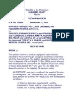 Sps Flores vs. Sps Pineda