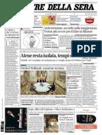 Corriere della Sera - 26/02/2015