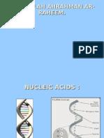 Nucliec Acids