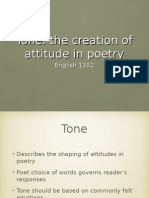 tone in poetry