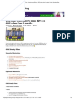 GRE Study Plan _ How to score 320+ on GRE in less than 3 months _ Higher Education Blog