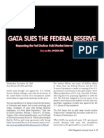 GATA Sues Federal Reserve System