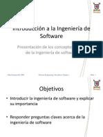 01 Introduccion a La Ingenieria de Software