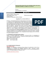 Acta Final de La Negociación Colectiva en Construcción Civil 2014