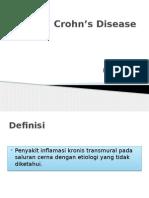 Chron's Disease Ppt