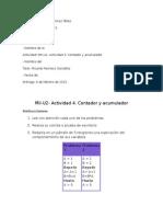 Contador y Acumulador