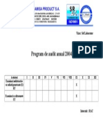 Plan de Audit 2004