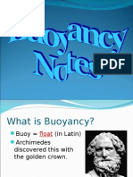 Buoyancy Notes 2013
