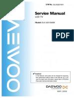 Daewoo DLX32D1SMSB Manual de Servicio LCD