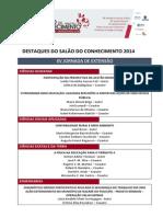 Destaques Salão do Conhecimento 2014.pdf