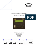 MicroVision Plus (mMOTOR) Technical Manual