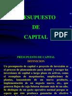 Presupuesto de Capital 1