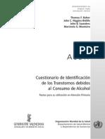 Manual del Cuestionario Audit