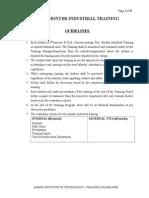 Aadesh Trg Report Format