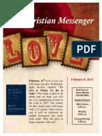 February 8 Newsletter