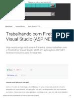 Trabalhando Com Firebird No Visual Studio (ASP
