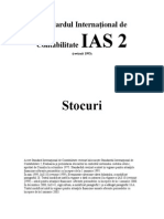 IAS Standardul International de Contabilitate IAS 2