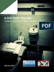 ACLU Texas Solitary Report