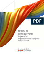 Print Comprinergy proofparison Report