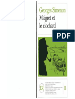 SIMENON Maigret Et Le Clochard