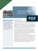 EX8200 Ethernet Line Cards