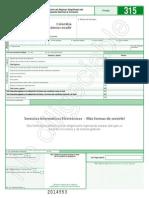 Declaracion 315 2014 Impuesto Consumo Regimen Simplificado