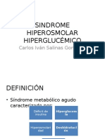 SINDROME HIPEROSMOLAR HIPERGLUCÉMICO