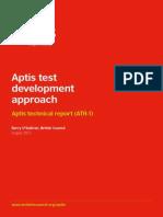Aptis Test Dev Approach Report