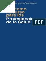 AA Como Recurso Para Los Profesionales