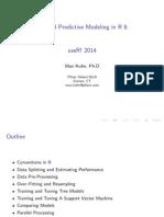 Applied Predictive Modeling in R Slides