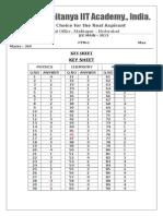 02-08-14 Sr.iplcO Jee Main (2013) PTM-1 Final Key & Solutions