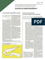 """""""Gare à ne pas attiser une fictive guerre des identités"""""""