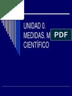 Unidad 0. Medida
