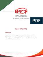 Manuel Qualite Bourgue