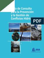 Guía de consulta para la prevención y la gestión de conflictos hídricos