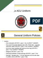 uniform wear