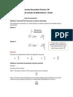 Matematicas 1, Solo Bloque 3