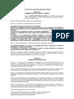 Estatutos de La Asociacion Huesca en Bici