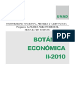 Modulo de Botanica Economica-II - 2010