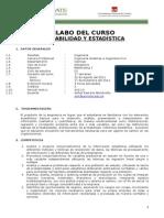 1-Silabo Probabilidad y Estadistica Sistemas 2011 FINAL