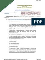 Lei n° 10267-01 - Georreferenciamento de Imóveis Rurais