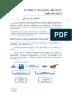 A. INTERIORIDAD HOREB - Dos Itinerarios Para Educar La Interioridad - (Artículo) Www