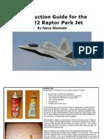 F-22 Construction Guide Scratchbuild Rev A