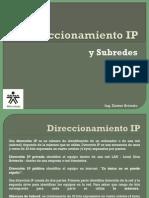 Direccionamiento IP Subredes