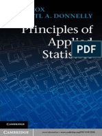 Book Principles of Applied Statistics