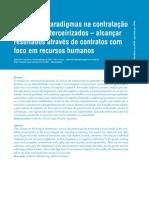 Quebra de paradigmas na contratação de serviços terceirizados