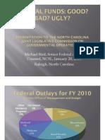 01. Presentation by NCSL. Federal Funds.good Bad Ugly