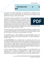 1. Introduccion a La Agroclimatologia