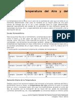 2. Temperatura Del Aire y Del Suelo, Agroclimatologia