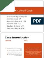CSX- Conrail_Group 13